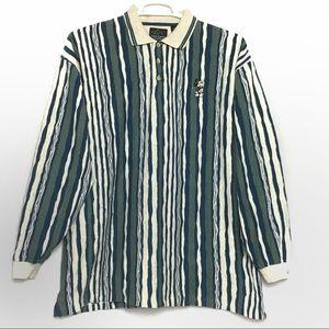 Greg Norman Disney Mickey Polo Golf Rugby Shirt